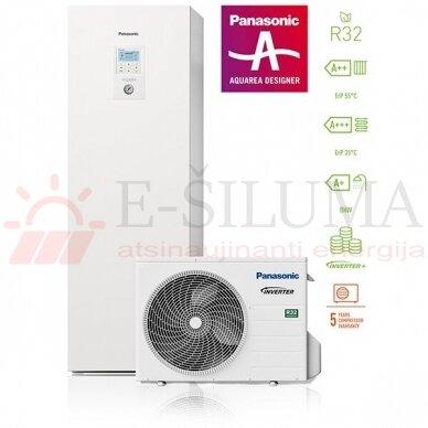 3,2 kW HP ALL IN ONE J kartos Panasonic AQUAREA šilumos siurblys KIT-ADC03JE5