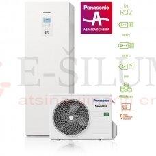 5 kW HP ALL IN ONE J kartos Panasonic AQUAREA šilumos siurblys KIT-ADC05JE5