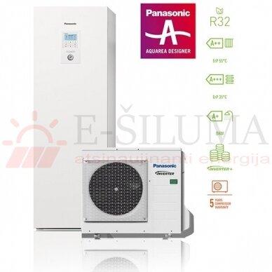 7 kW HP ALL IN ONE J kartos Panasonic AQUAREA šilumos siurblys KIT-ADC07JE5