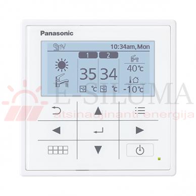 9 kW HP Bi-Bloc J kartos Panasonic AQUAREA šilumos siurblys KIT-WC09J3E5 2