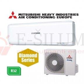 Oro kondicionierius Mitsubishi Heavy Industries SRK20ZSX-W / SRC20ZSX-W