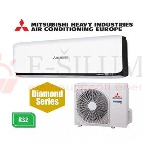Oro kondicionierius Mitsubishi Heavy Industries SRK20ZSX-WB / SRC20ZSX-W